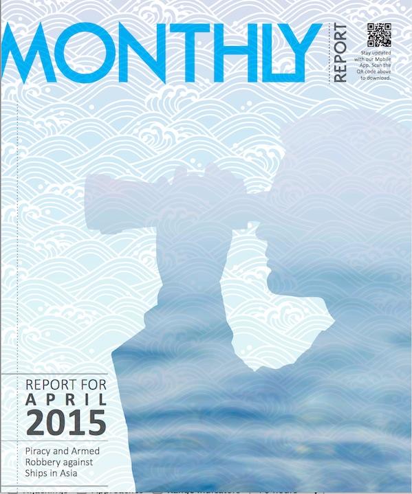 ReCAAP April Report Cover