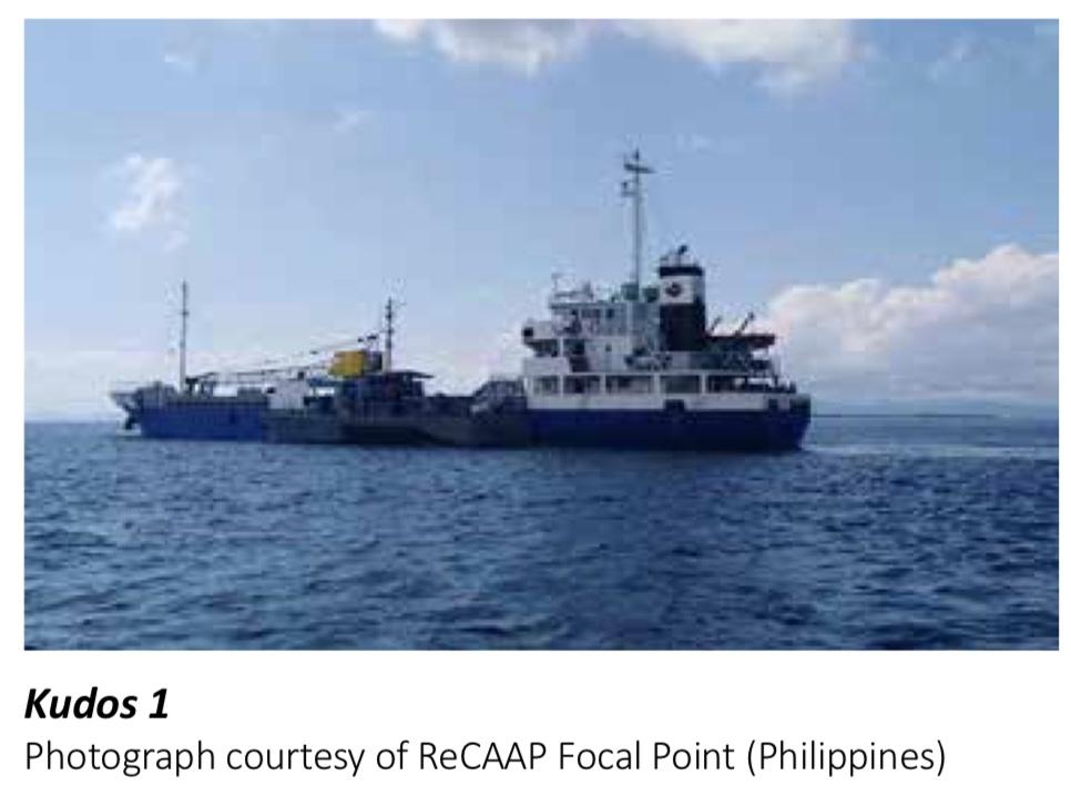 Kudos 1 Boarding; ReCAAP ISC