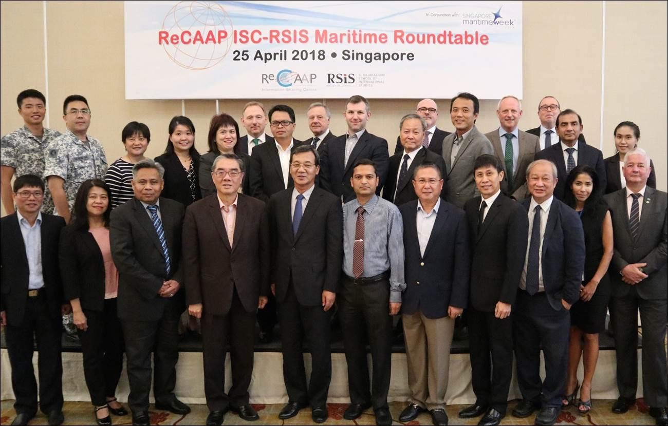 ReCAAP ISC & RSIS Maritime Roundtable. Image - ReCAAP ISC