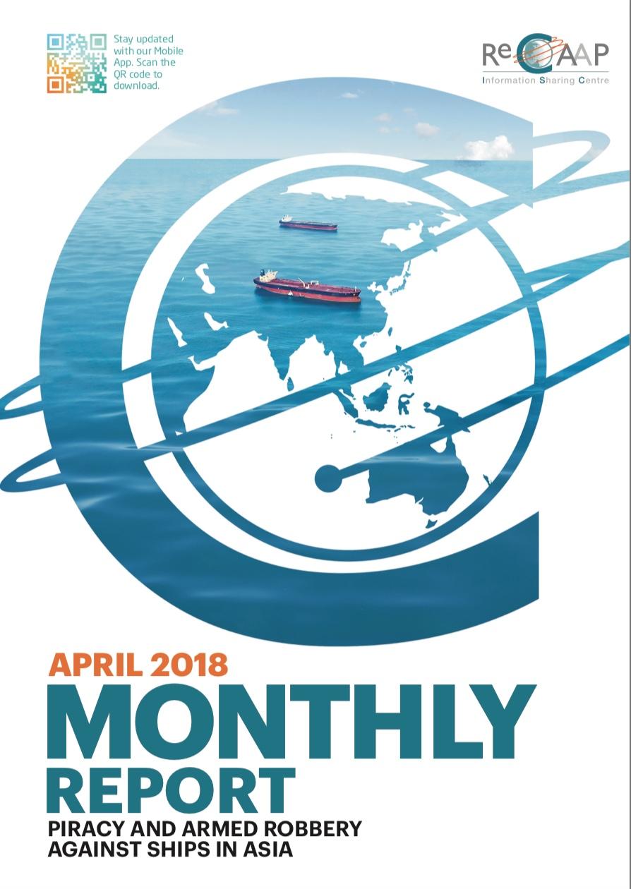 ReCAAP April 2018 Report Cover