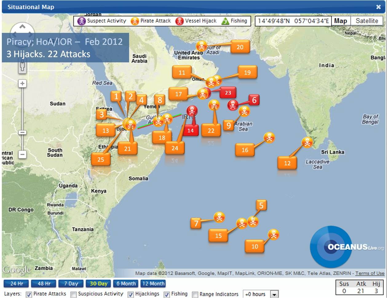 piracy in indian ocean Somali pirate operate far beyond somali national waters and into the indian  ocean, the red sea and the gulf of aden somali pirate attacks have been  reported.