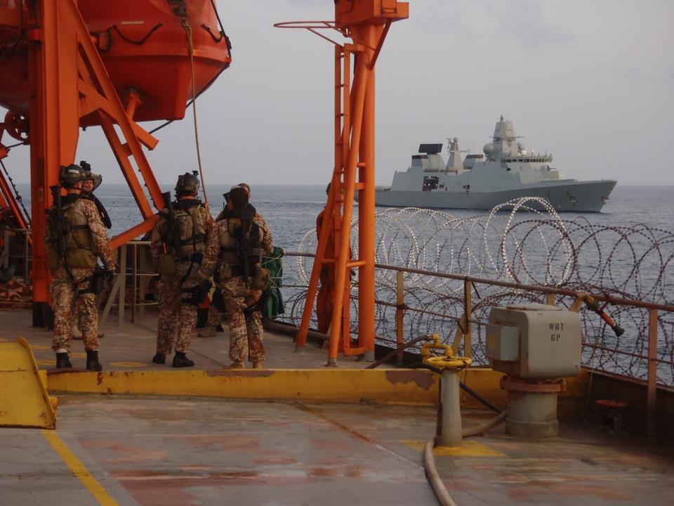 Danish Boarding Team Search For Pirates Photo: Op Ocean Shield