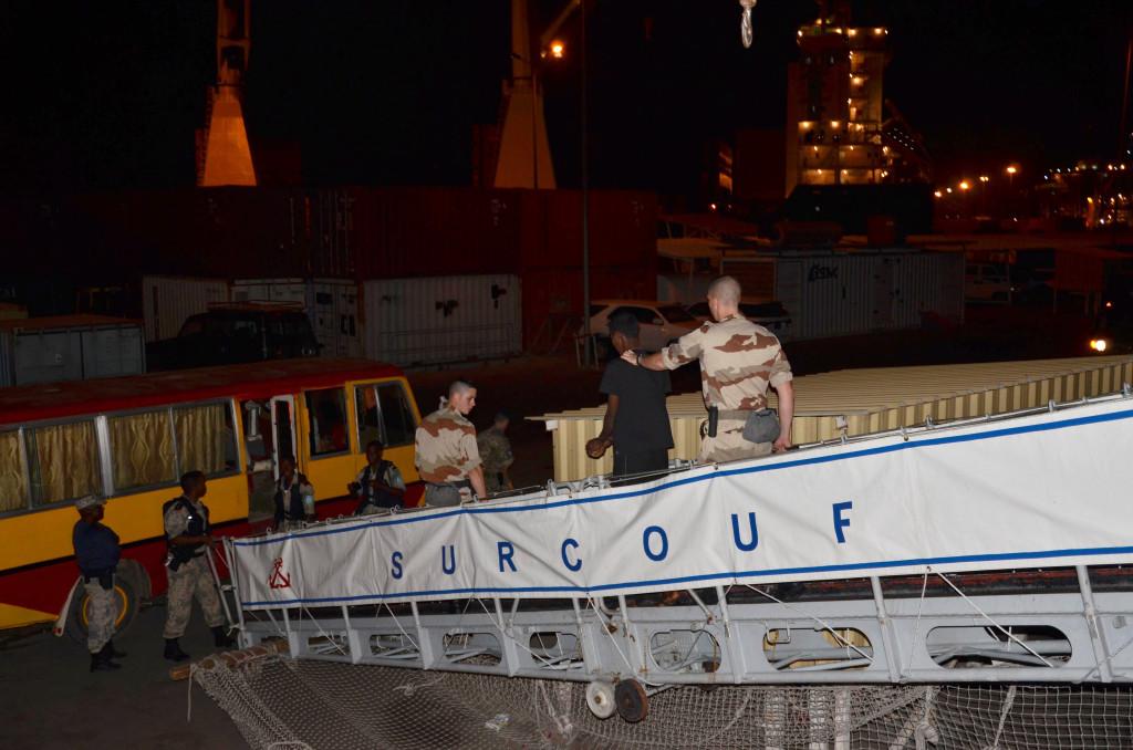 Suspect Pirates Landed in Mauritius Photo: Eunavfor